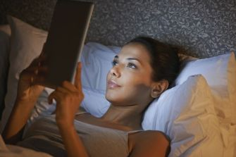 Image result for black women reading iphone