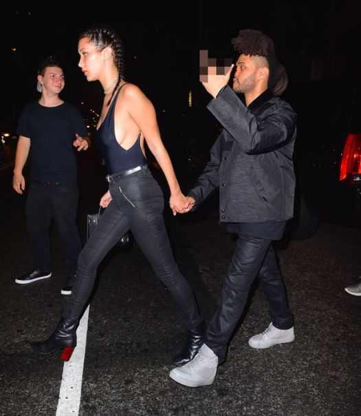 The Weeknd is dating 18 year-old model Bella Hadid, couple ...