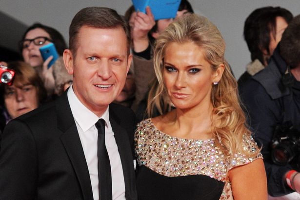 Jeremy Kyle and Carla Kyle at National Television Awards, The O2, London, Britain - 22 Jan 2014