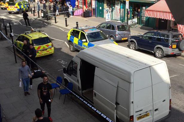 Shooting in Chatsworth Road in London, E5