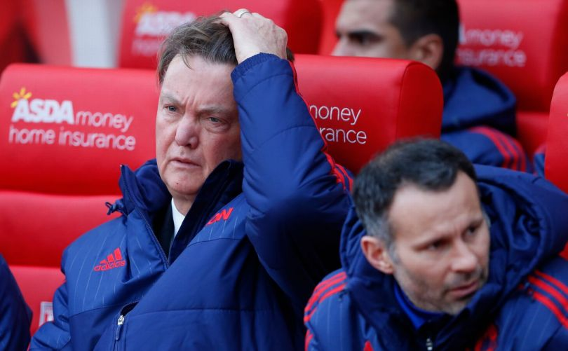 Manchester United v Chelsea is all about Louis van Gaal