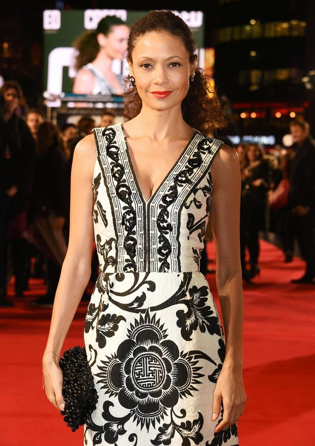 Thandie Newton attending the European premiere of Creed held at the Empire Cinema in Leicester Square, London