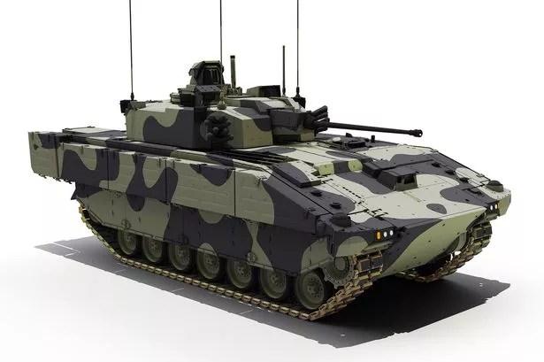 Ajax fighting vehicle