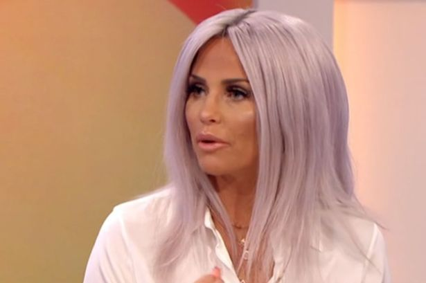 Katie Price shows off her new hair on Loose Women