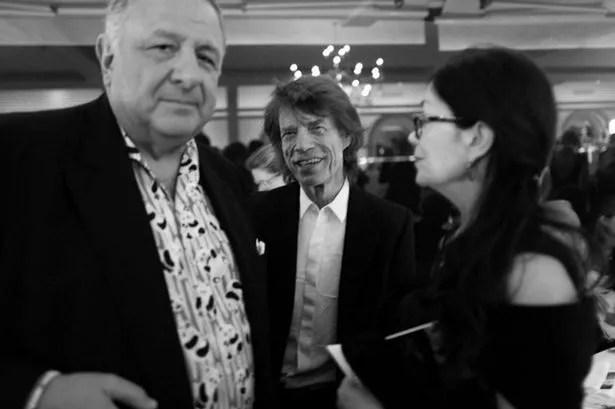 Jean Pigozzi and Mick Jagger