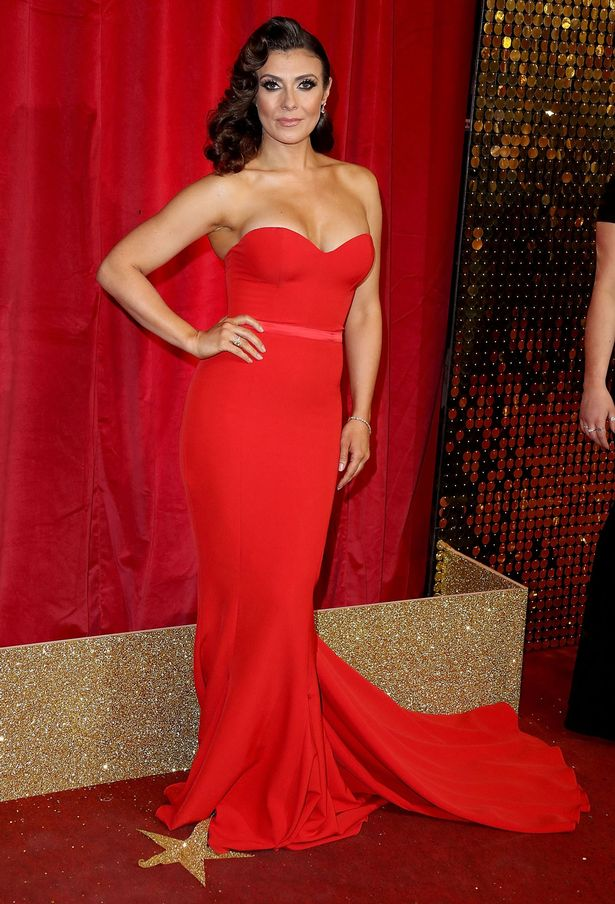 Kym Marsh attends the British Soap Awards 2016