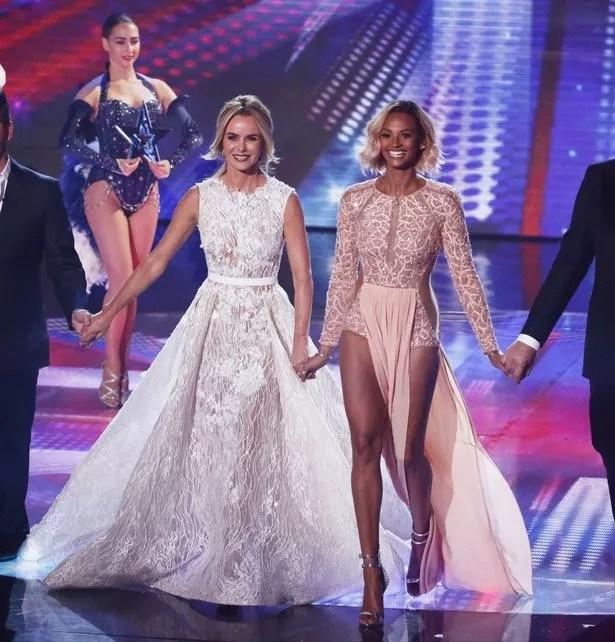 Amanda Holden at Britain's Got Talent Live Finals