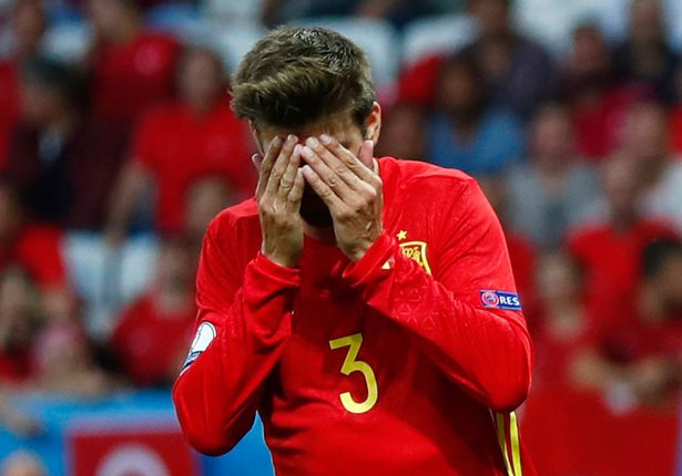 Image result for My decision to retire from Spain in 2018 is final – Pique