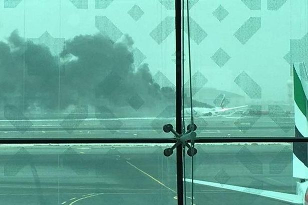 Emirates flight from Trivandrum to Dubai crash-lands