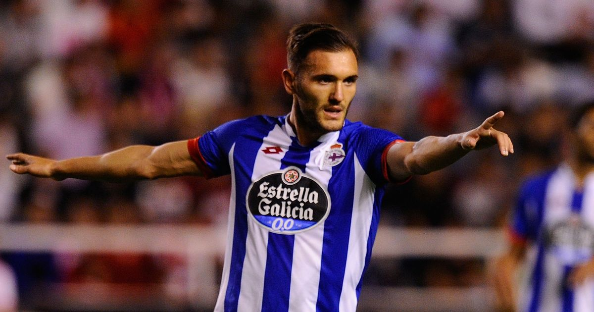 who is lucas perez the arsenal forward profiled after he completes his 17million move mirror online
