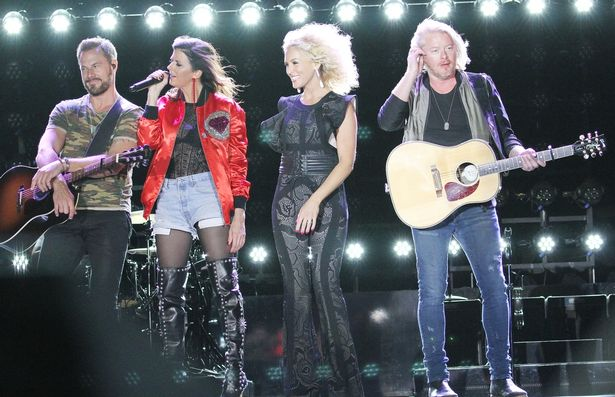 Route 91 Country Music Harvest Festival in Las Vegas, Nevada. <P> Pictured: Little Big Town