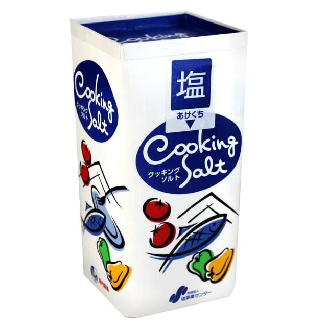 【日本鹽】盒裝家庭用鹽(800g)