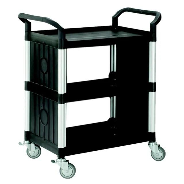【COLOR】精緻標準型3層側圍邊工具/餐推車(高級儀器輪)