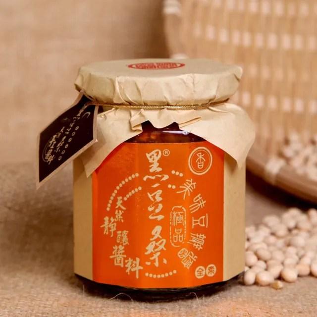 【黑豆桑】天然靜置釀造醬料系列-醇釀極品香豆瓣醬(豆瓣醬 300g*1)