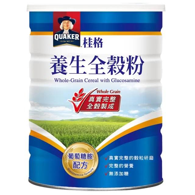 【QUAKER 桂格】葡萄糖胺配方養生全穀粉(600g/罐)