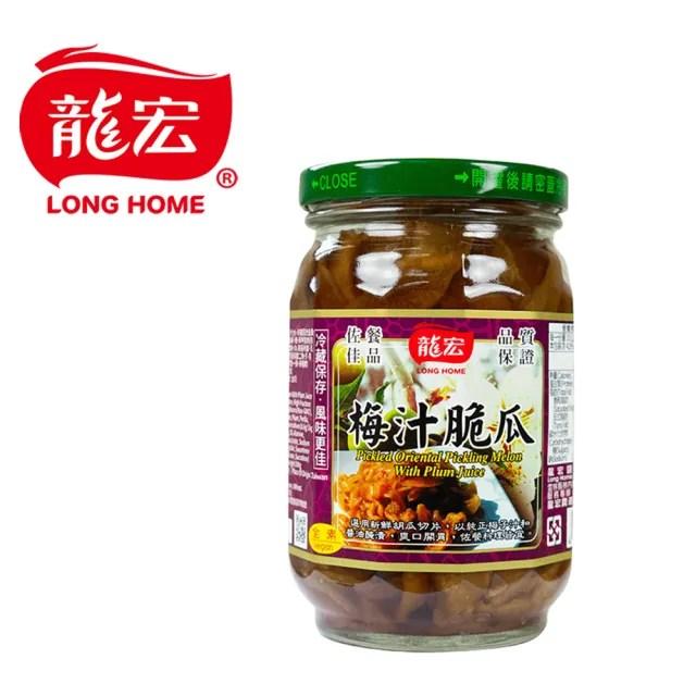 【龍宏】梅汁脆瓜420g