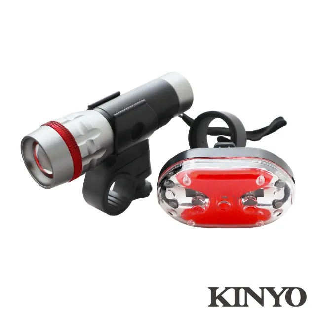 【KINYO】25W高亮度自行車燈組(BLED-7250)