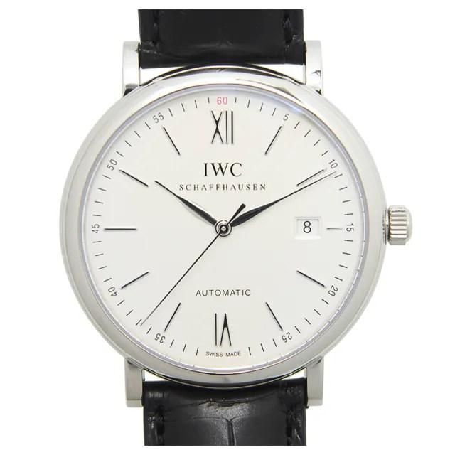 【IWC 萬國錶】Portofino 柏濤菲諾系列經典白面機械腕錶-40mm(IW356501)