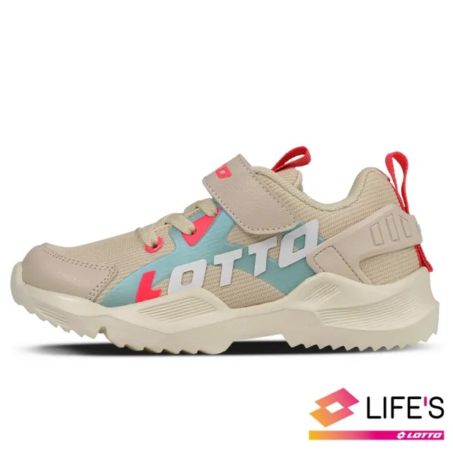 【LOTTO】運動鞋 兒童鞋  EASY RIDE 輕量跑鞋(米-LT0AKR1791)