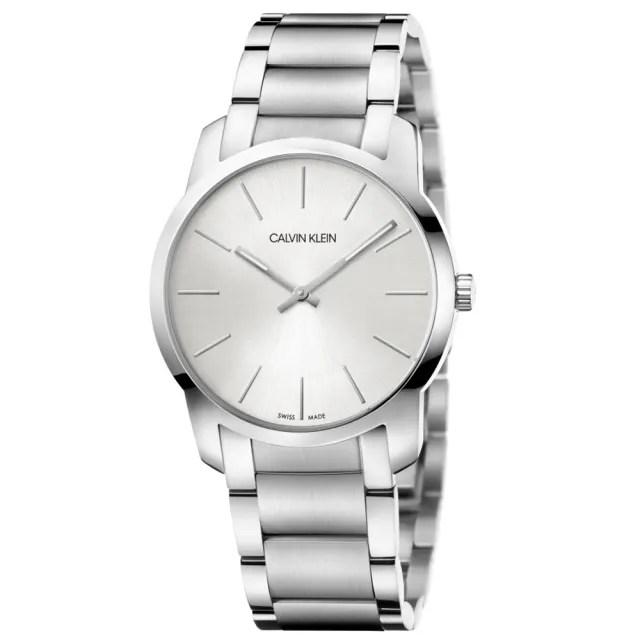 【Calvin Klein】CK簡約時尚腕錶37mm(K2G22146)