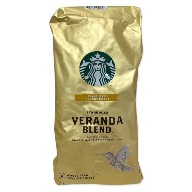 【STARBUCKS 星巴克】Starbucks 黃金烘焙綜合咖啡豆 1.13公斤