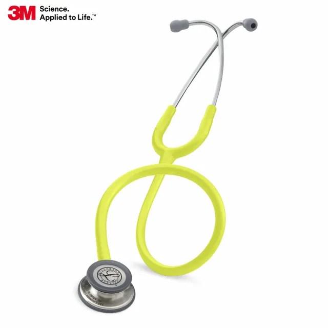 【3M】Littmann  5839 一般型第三代聽診器 檸檬黃色管(聽診器)