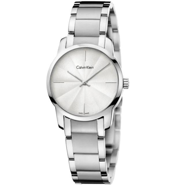 【Calvin Klein】CK極簡質感三針腕錶31mm(K2G23146)