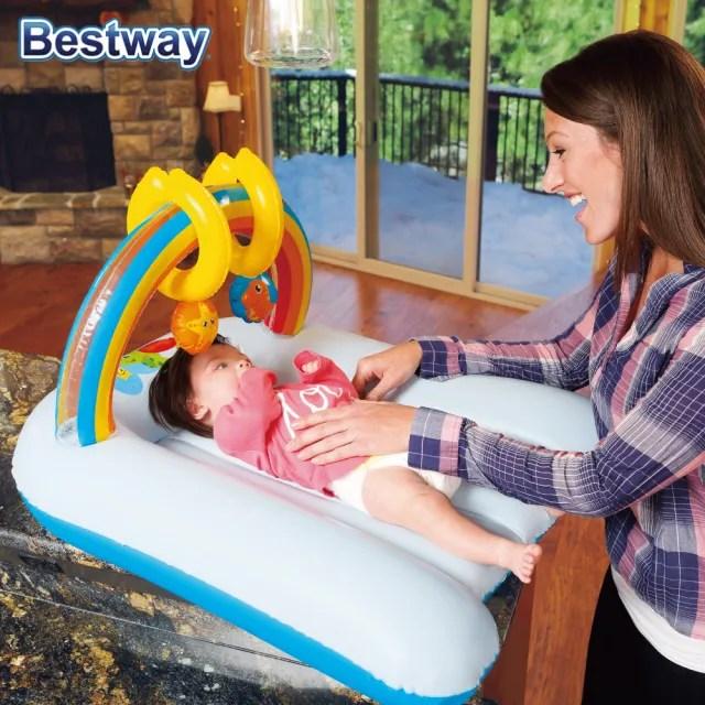 【BESTWAY】嬰兒床墊(可當尿布墊/玩樂墊/攜帶式睡墊)