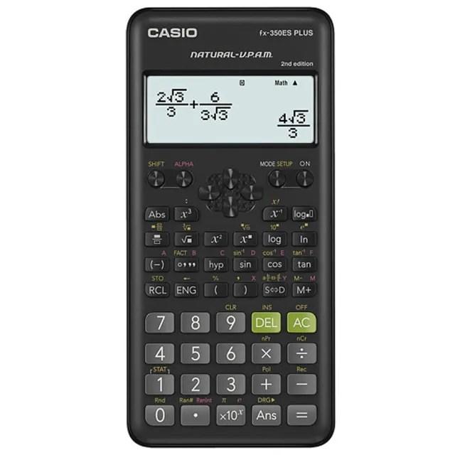 【CASIO 卡西歐】12位數工程型計算機II(FX-350ES PLUS-2)
