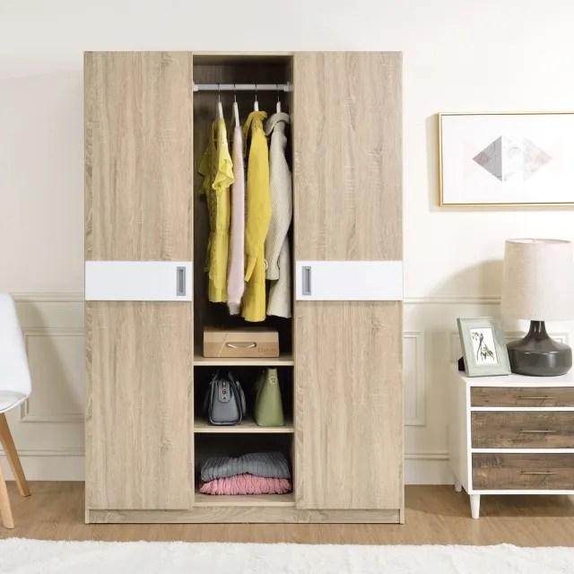 【TZUMii】柏克二門一空衣櫃(衣櫥 衣物收納櫃)