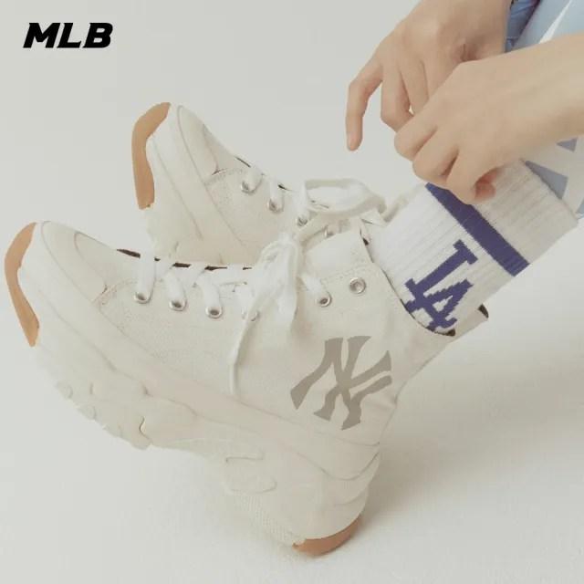 【MLB】高筒老爹鞋 Chunky High系列 紐約洋基隊(32SHU1111-50I)