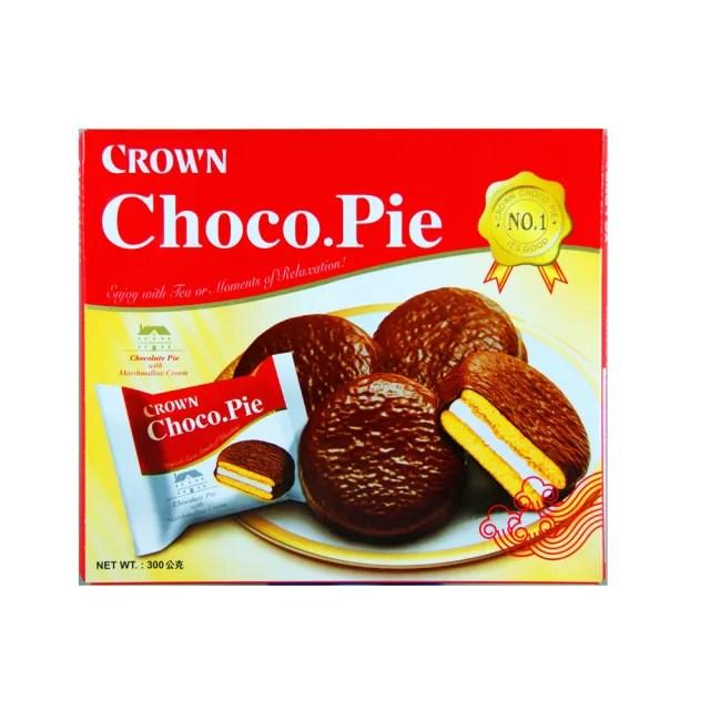 【CROWN 皇冠】達人巧克力派(300g)