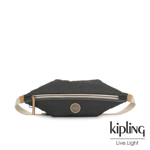 【KIPLING】城市探索霧灰六角腰包-YOKU-EDGELAND系列