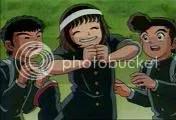 Ropa de los animadores en la serie del Capita Tsubasa