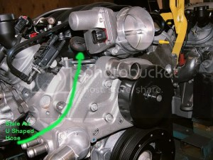 Stock LS2 PCV routing