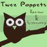 Twee Poppets Button