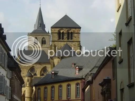 The Trierer Dom as viewed from Liebfrauenstraße