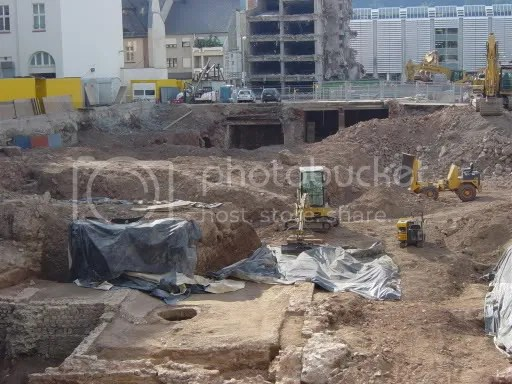 Excavations in Trier