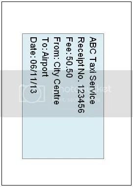 Figure 3 - A5 top half of original A4 image