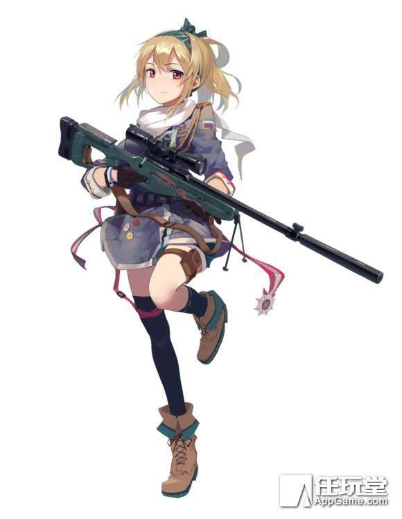 《少女前線》攻略:RF(步槍)T度排名 - 壹讀