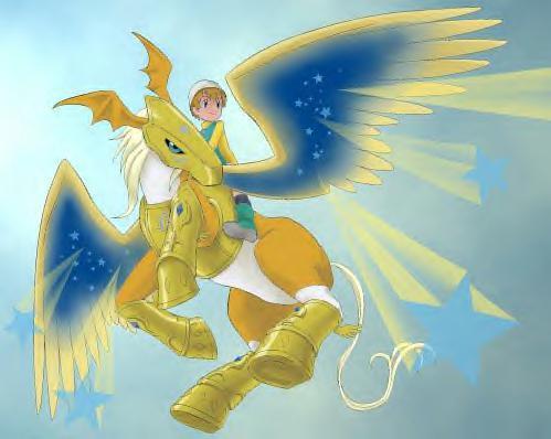 數碼寶貝:他和天使獸算是親兄弟! - 壹讀