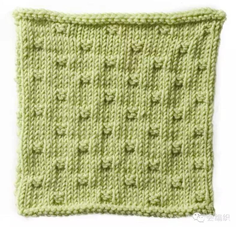 編織毛衣可以用到的簡單實用棒針小花樣 - 壹讀