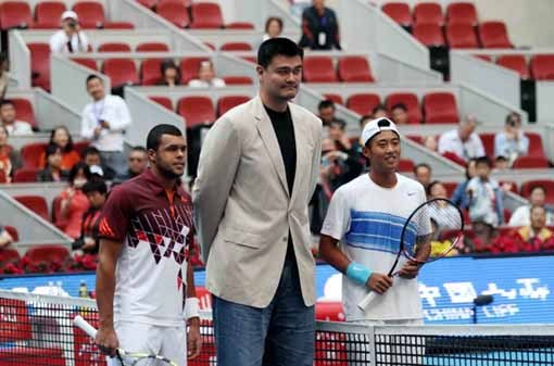 Yao Ming Makes Appearance at China Open