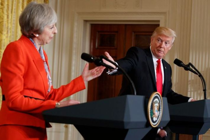 Image result for GOVERNMENT SAYS TRUMP WILL RECEIVE FULL COURTESY OF STATE VISIT