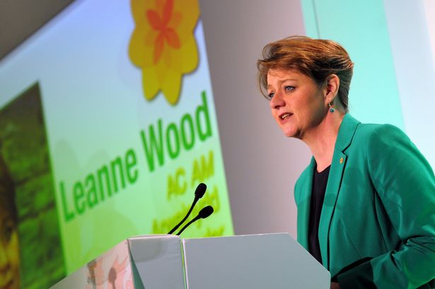 ( Plaid Cymru's Leanne Wood via WalesOnline )