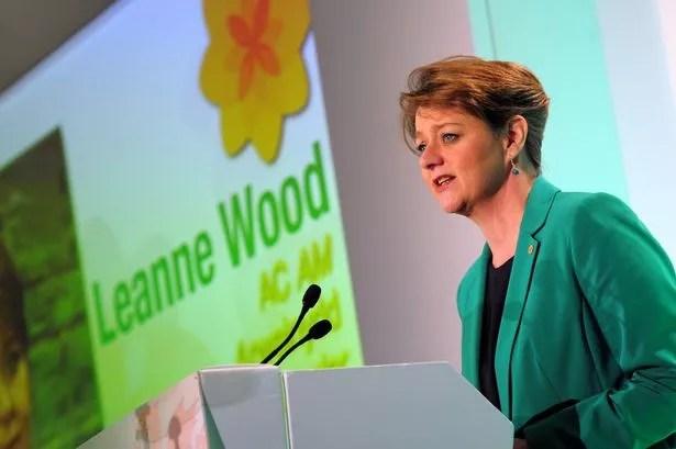 ( Plaid Cymru's Leanne Wood via WalesOnline )