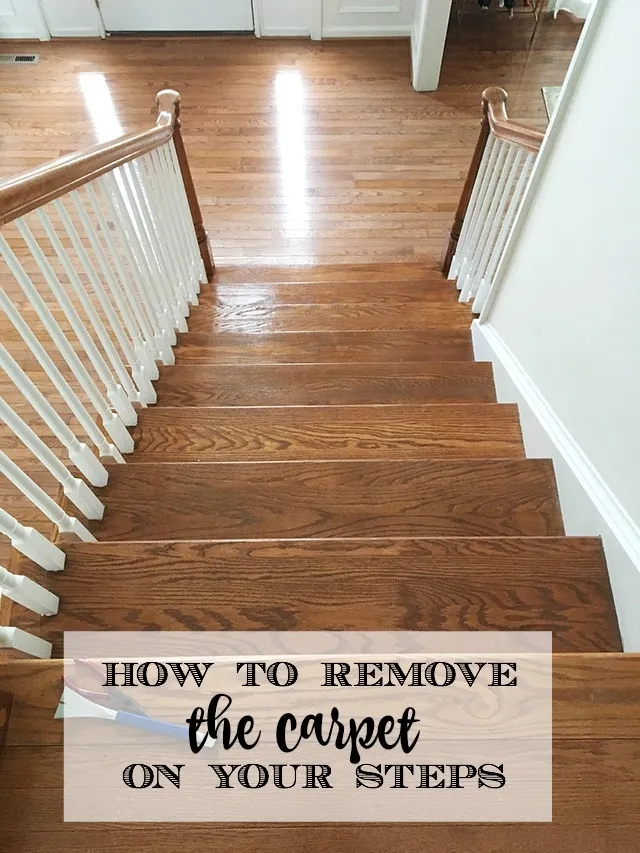 How To Remove The D*Rty Carpet Runner From Your Wood Stairs 11   Stair Step Carpet Runners   Hallway Carpet   Walmart   Flooring   Non Slip Stair   Wall Carpet