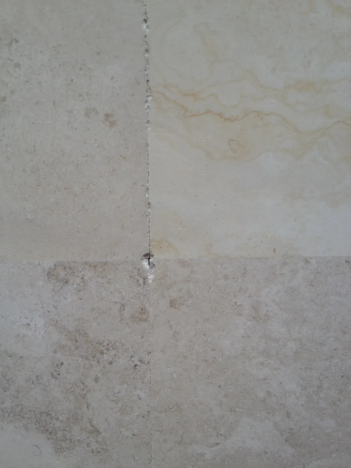 can i install tile without grout the