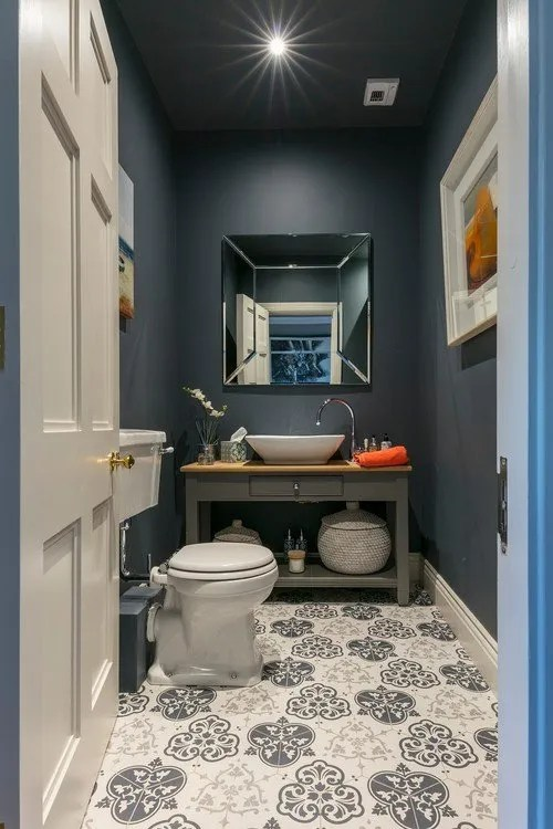 elements of the perfect powder room