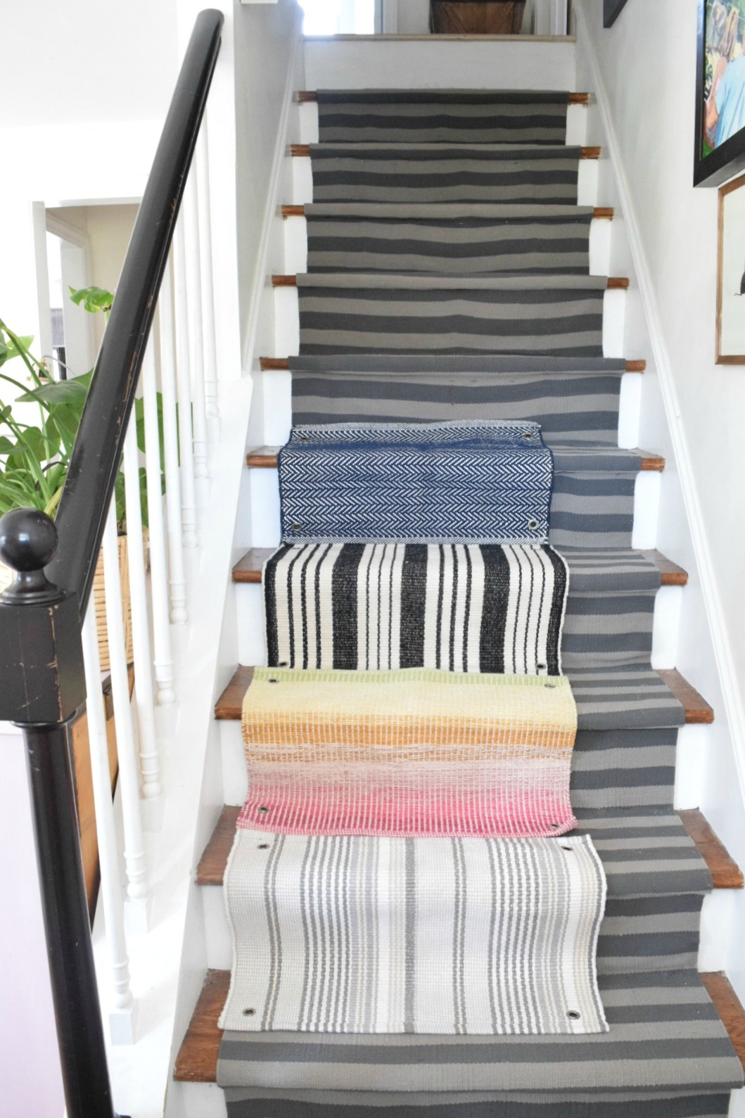 Learn From Our Mistakes When Installing A Stair Runner Nesting | Rug Runners For Stairs | Wood | Antelope | Hallway | Persian | Mid Century Modern